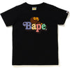 GINGHAM CHECK MILO ON BAPE TEE LADIES