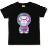 BAPE CHECK BIG BABY MILO TEE LADIES