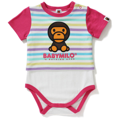 BABY MILO LAYERED BODY SUIT KB KIDS