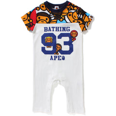 ALL BABY MILO MULTI FOOTBALL ROMPERS KB KIDS