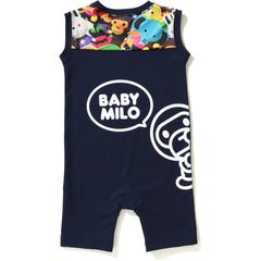 MILO ALL PLUSH DOLL TANK ROMPERS KB KIDS