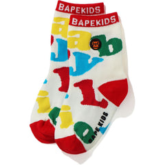BABY MILO ALPHABET SOCKS KIDS