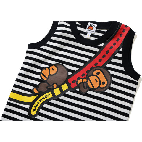 MILO SHOULDER PRINT TANK TOP KIDS