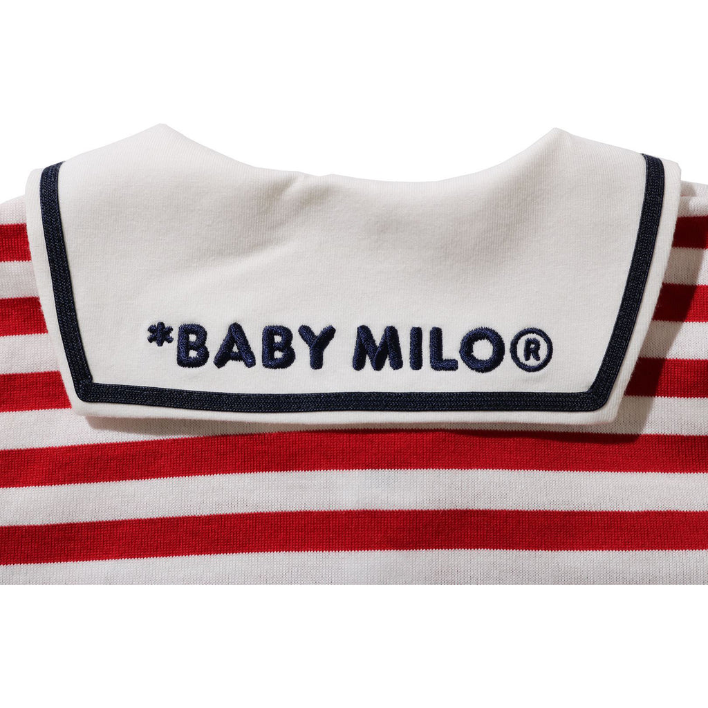 BABY MILO SAILOR COLLAR LAYERED BODYSUIT KIDS