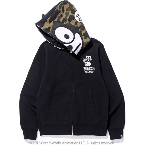 FELIX THE CAT FULL ZIP HOODIE