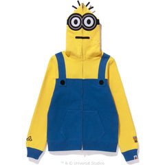 MINIONS FULL ZIP HOODIE LADIES