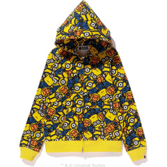 ALL MINIONS FULL ZIP HOODIE LADIES