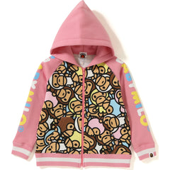 ALL BABY MILO MULTI ZIP HOODIE KIDS