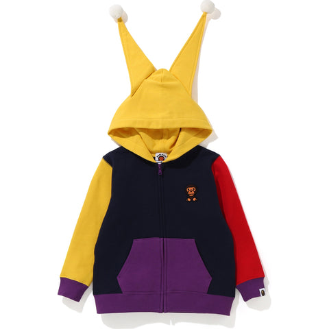 CRAZY MILO CLOWN ZIP HOODIE KIDS