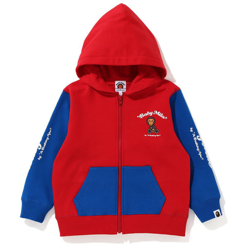 BABY MILO BICYCLE RACE ZIP HOODIE KIDS
