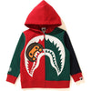 COLOR BLOCK MILO SHARK ZIP HOODIE KIDS