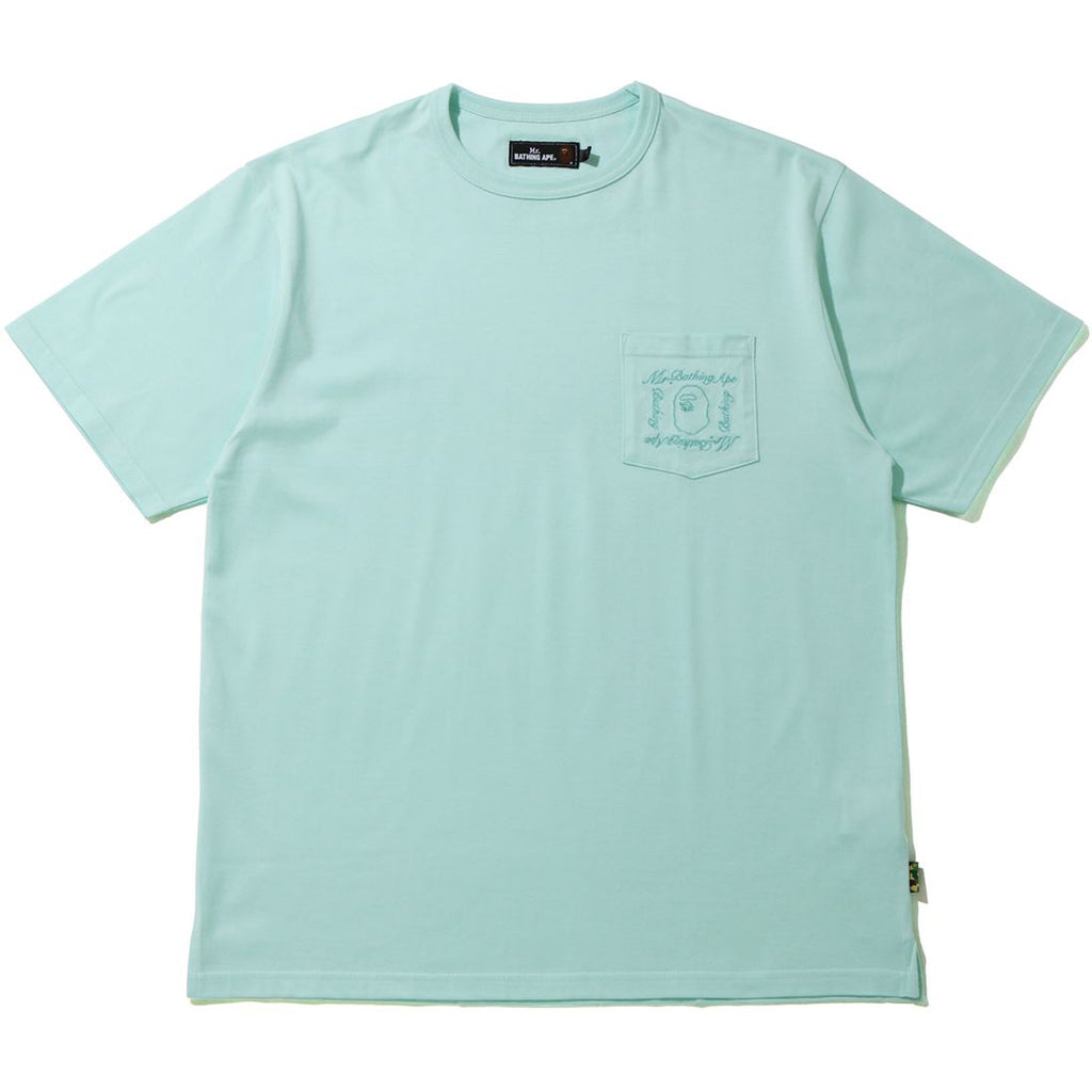 MR BATHING APE POCKET WIDE TEE MENS