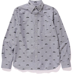 MR PATTERN OXFORD STRIPE BD SHIRT MENS