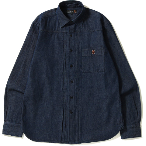 DENIM SHIRT MENS