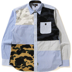 1ST CAMO MULTI PATTERN SHIRT MENS