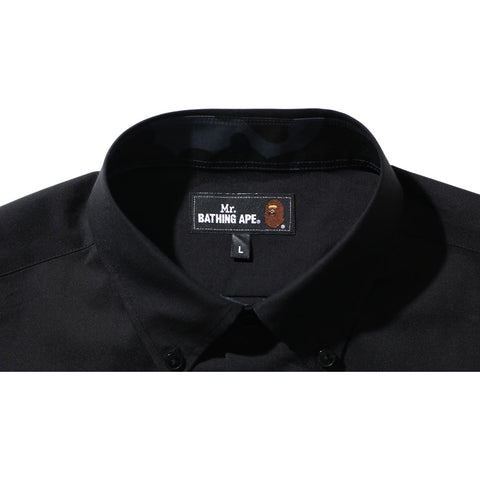 APE HEAD WIDE STRETCH SHIRT MENS