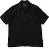 ONE POINT OPEN COLLAR S/S SHIRT MENS