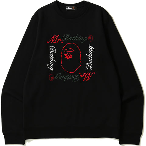 MR EMBROIDERY CREWNECK #2 MENS