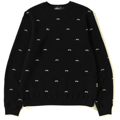 MR PATTERN EMBROIDERY CREWNECK MENS