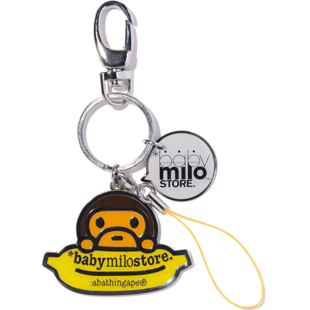 KEY CHAIN METAL MILO&BANANA KIDS