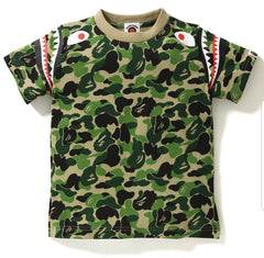 ABC CAMO SHARK SHOULDER TEE KIDS