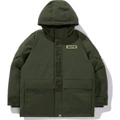 BAPE X ALPHA ECWCS DOWN JACKET MENS