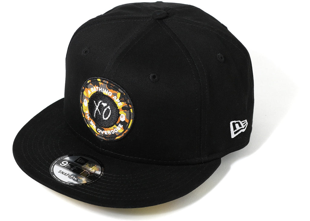 ff9141a98a31a BAPE X XO NEW ERA SNAP BACK CAP MENS