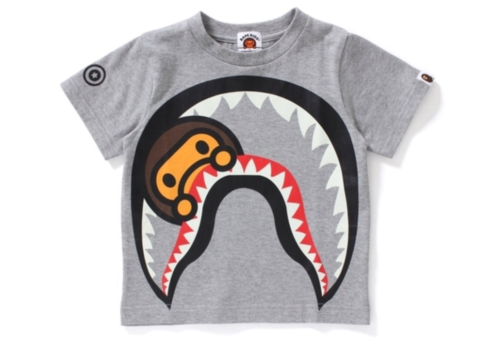 BIG MILO SHARK GLOW IN THE DARK TEE KIDS