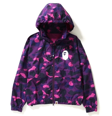 COLOR CAMO WIDE CROPPED JACKET LADIES
