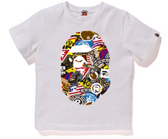 PATCHED BIG APE HEAD TEE KIDS