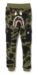 1ST CAMO SHARK 6PK SLIM SWEAT PANTS KIDS