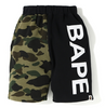 1ST CAMO BAPE SWEAT SHORTS KIDS