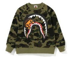 6105ffe60 NEW 1ST CAMO MILO SHARK CREWNECK KIDS