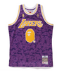 LAKERS ABC BASKETBALL SWINGMAN JERSEY TANKTOP MEN (PURPLE)