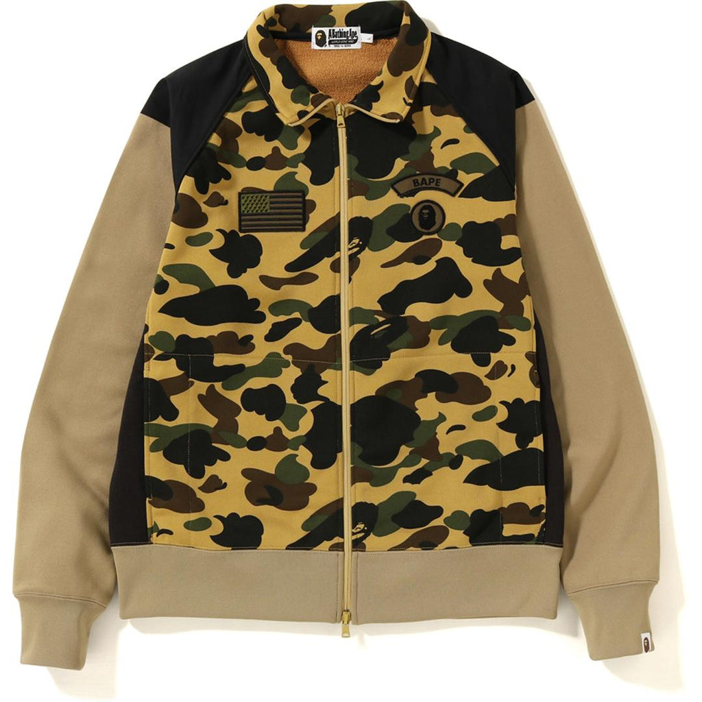 1ST CAMO TACTICAL WIDE ZIP SWEAT MENS