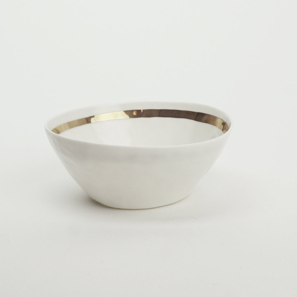 Bowl GOLD - Kajsa Cramer