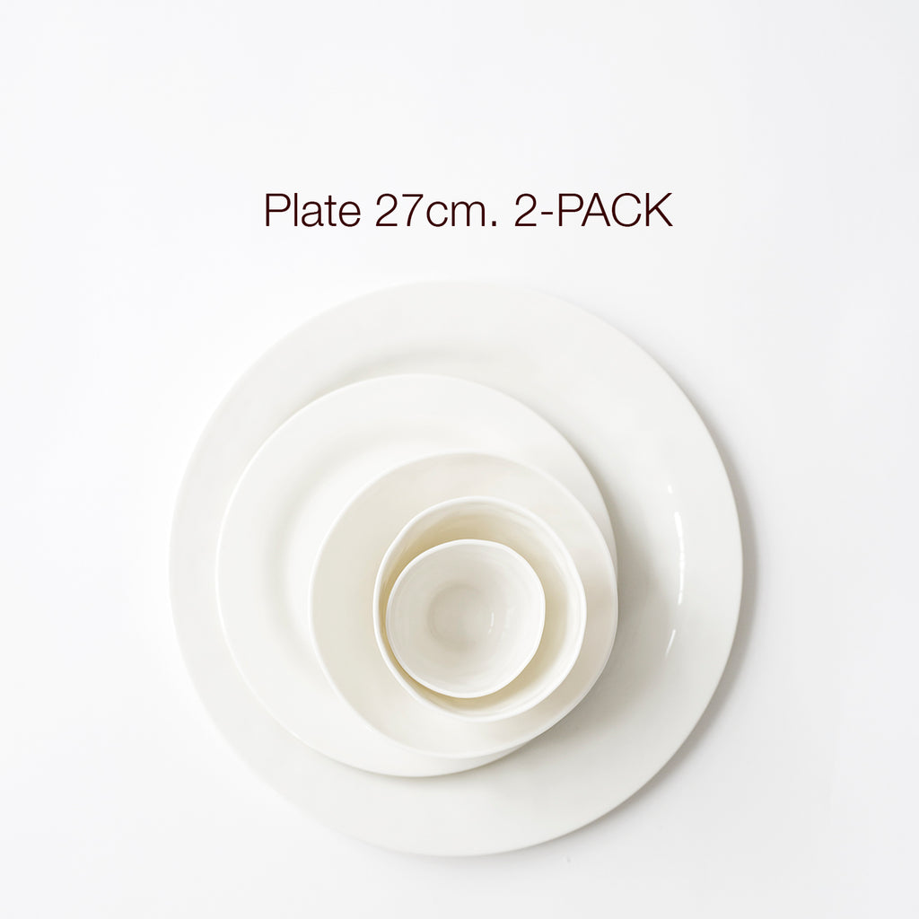 Big PLATE 2-PACK, all colors - Kajsa Cramer