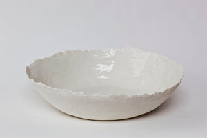 Large White Dish