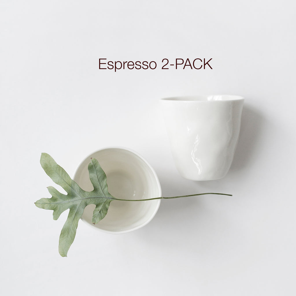 Espresso MUG 2-PACK, all colors - Kajsa Cramer