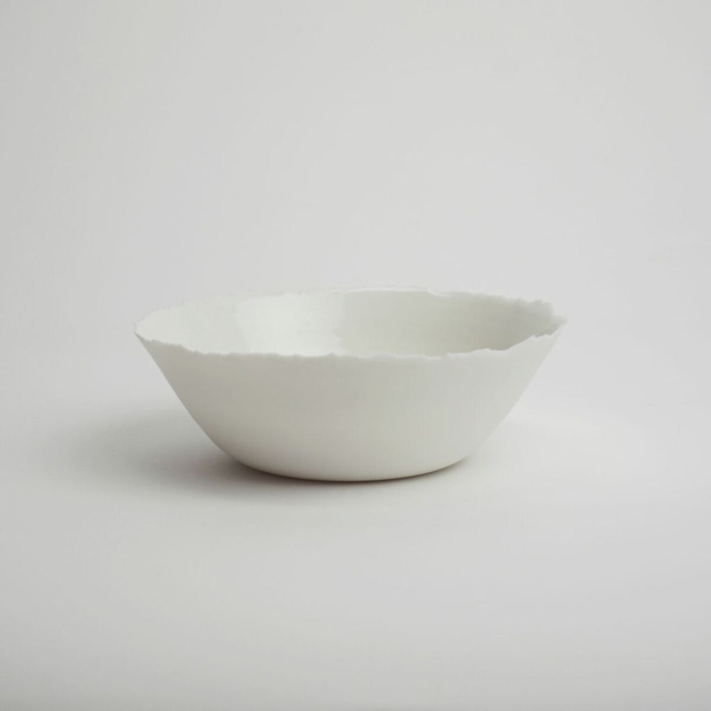 Bowl WHITE Medium - Kajsa Cramer