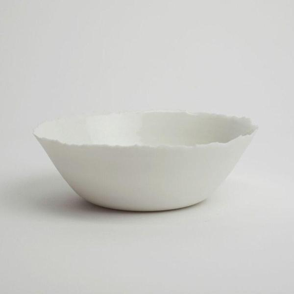 Bowl WHITE Large - Kajsa Cramer