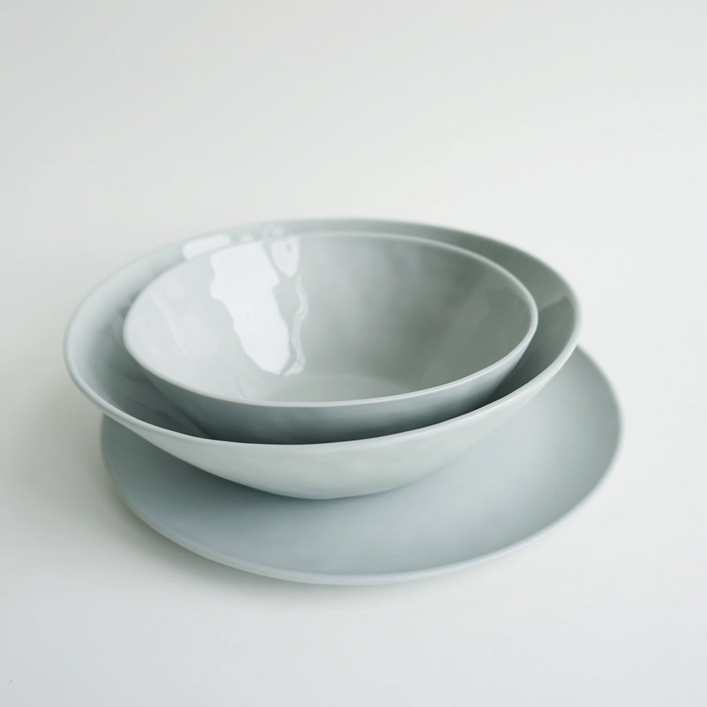 NEW! Bowl GREENGRAY 19cm - Kajsa Cramer