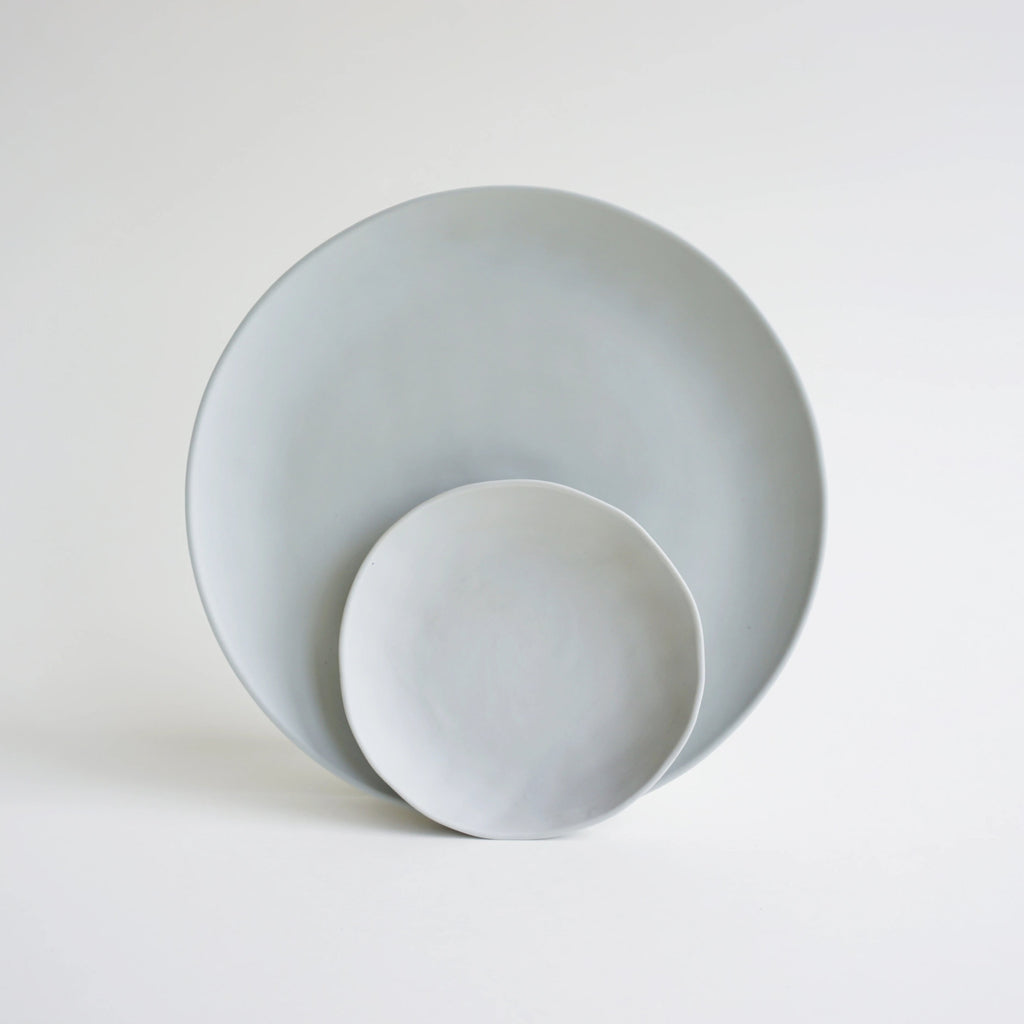NEW! Plate GREENGRAY 22cm