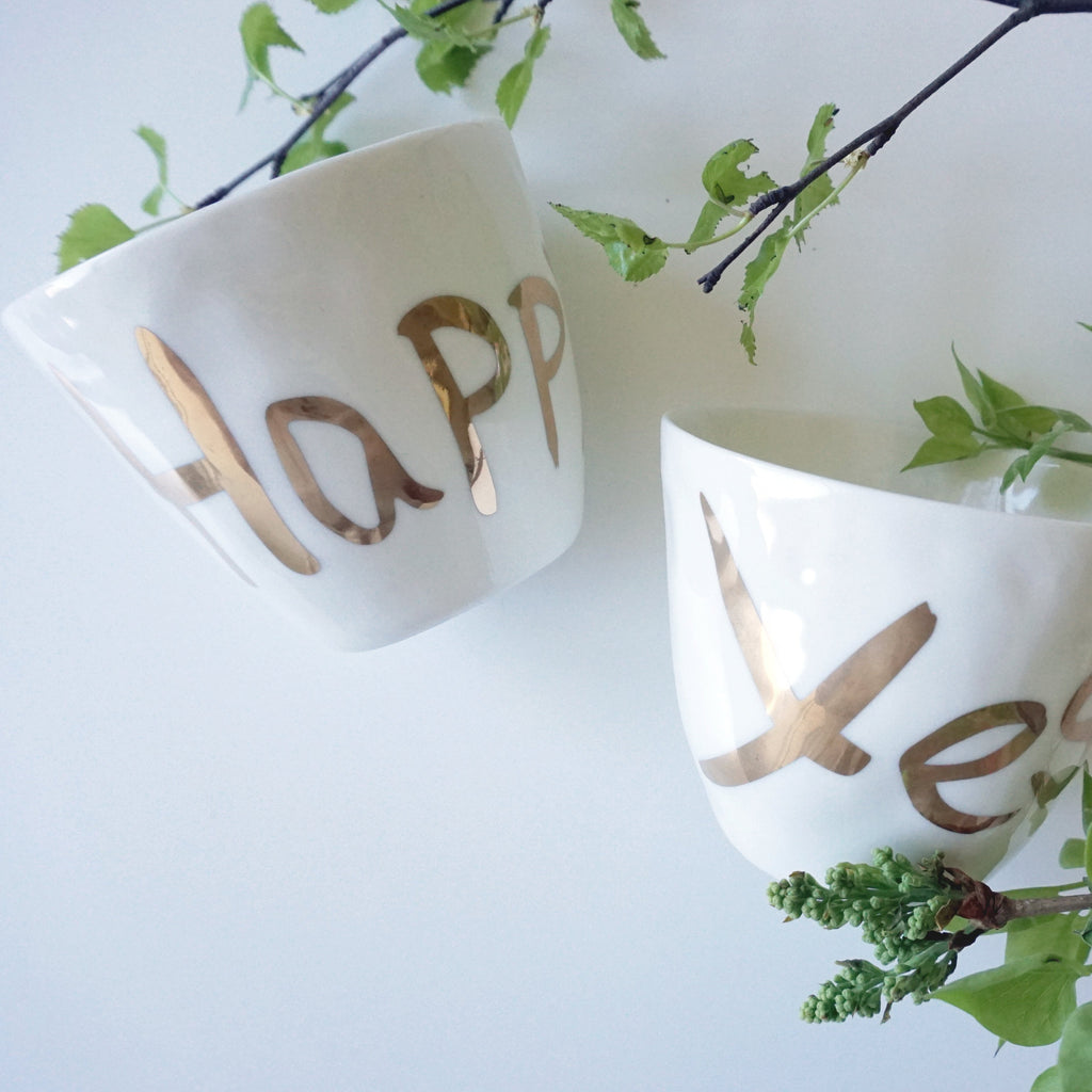 Mug HAPPY - Kajsa Cramer