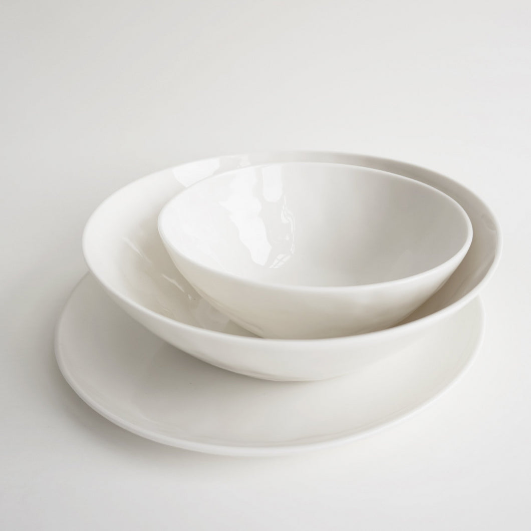 NEW! Bowl WHITE 19cm