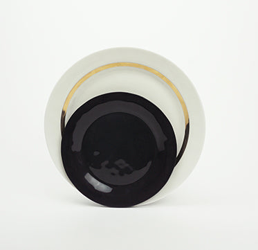 Small Plate BLACK - Kajsa Cramer