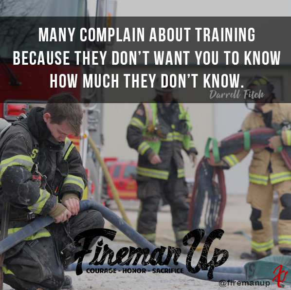 Many complain about training