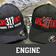 Custom Hats Fireman Up Firefighter Clothing - Engine