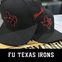 Fireman Up Texas Irons Hat
