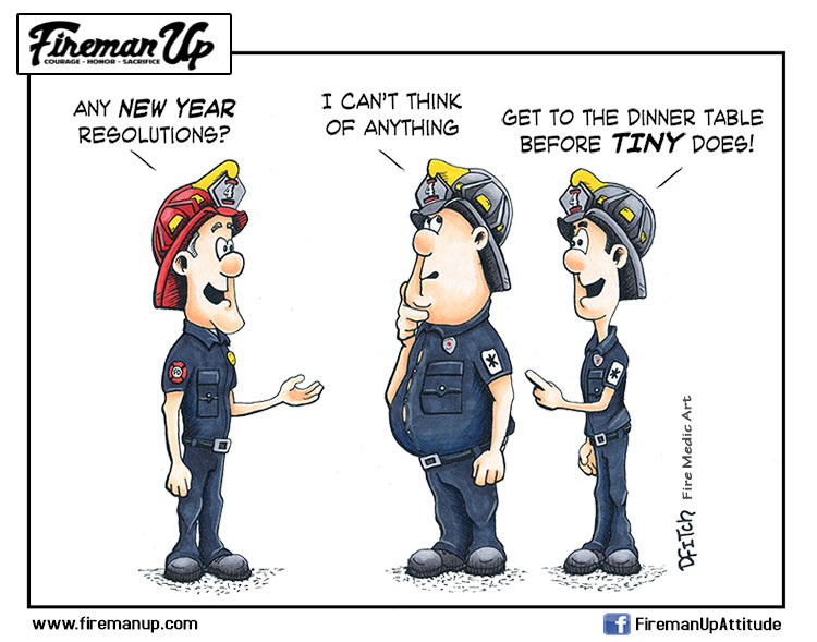 Image result for firefighters happy new year